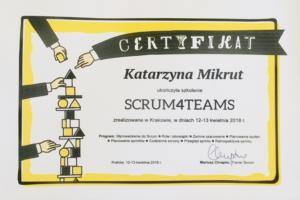 Szkolenie Scum4Team by Mariusz Chrapko